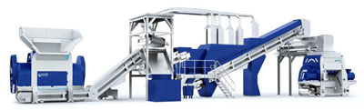 A shredder technology creates a new market segment – one-step processing